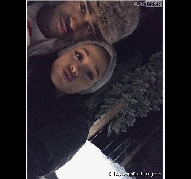 Ariana Grande e Big Sean vivem publicando várias fotos fofas juntos!