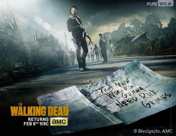"""Os protagonistas estão indo para um novo ambiente em """"The Walking Dead"""""""