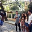 """Sophia Abrahão e Giovanna Lancellotti estão sempre compartilhando fotos dos bastidores de """"Alto Astral"""" no Instagram"""