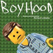 """Indicados ao Oscar 2015 viram Lego! """"Boyhood"""", """"Birdman"""" e mais ganham cartazes do brinquedo!"""