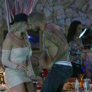 """No """"BBB15"""": Fernando fala mal de Amanda para Aline depois de olhares na Festa Árabe"""