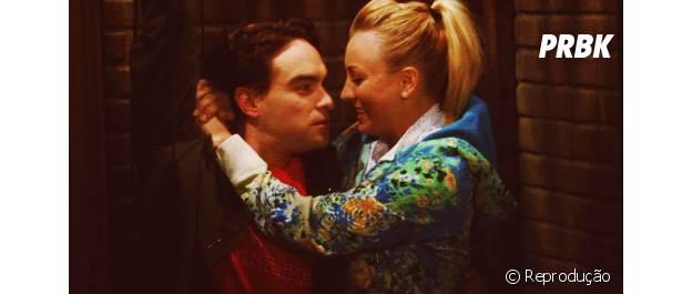 Penny (Kaley Cuoco) e Leonard (Johnny Galecki) precisam casar!