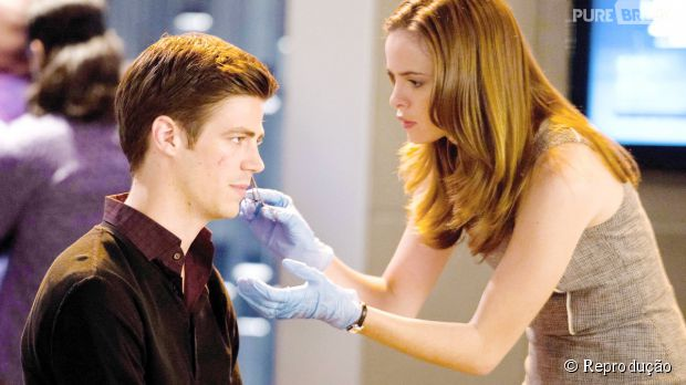"Caitlin (Danielle Panabaker) pode ter chance com Barry (Grant Gustin) em ""The Flash"""