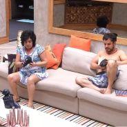 """No """"BBB15"""": Adrilles e Mariza conversam sobre isolamento de Fernando depois de eliminação de Aline"""