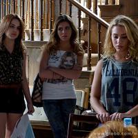 """""""Malhação"""": Meg finalmente será desmascarada por Sofia e Anita!"""