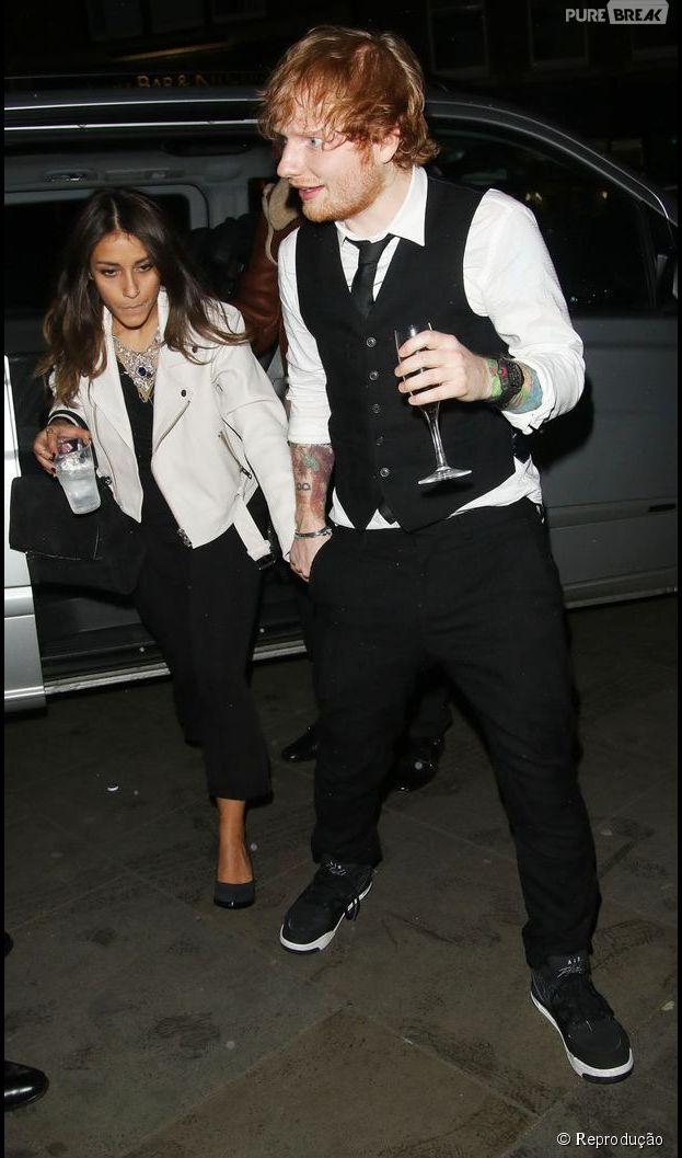 Charli Xcx And Marina Ed Sheeran chegando na...