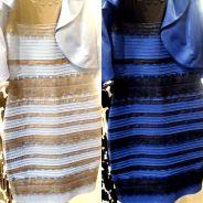 Qual a cor do vestido? Branco e dourado ou azul e preto? Vote em qual você enxerga!