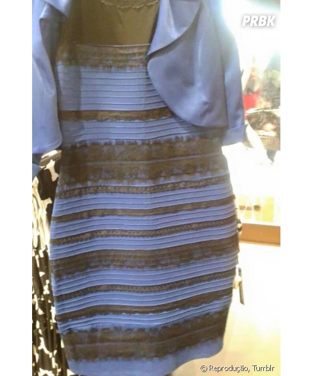 Vestido polêmico: qual a cor?