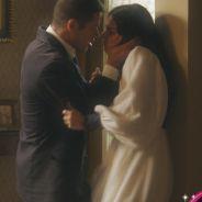 """Reta final """"Boogie Oogie"""": Pedro (José Loreto) tenta agarrar Sandra (Isis Valverde) e tem surpresa!"""