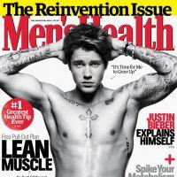 Justin Bieber posa sexy e mostra corpo malhado na capa da Men's Health