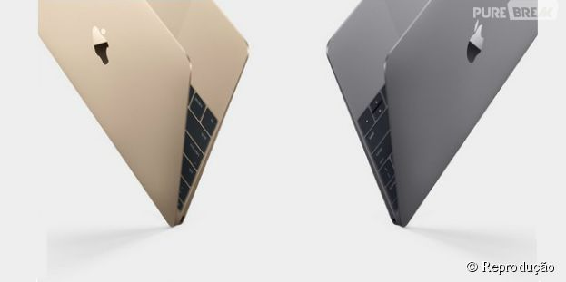 Apple lança MacBook nas cores cinza espacial, prata e dourado