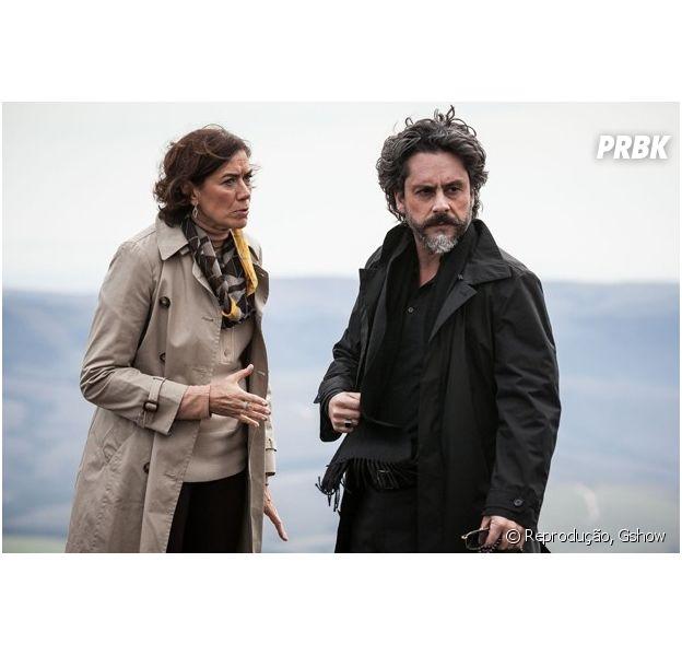 """Final da novela """"Império"""": Marta (Lilia Cabral) impede José Alfredo (Alexandre Nero) de morrer!"""