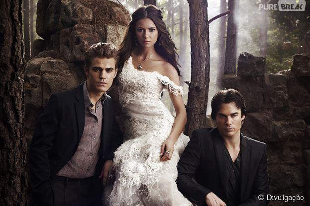 """Série """"The Vampire Diaries"""" vai encerrar sua sexta temporada dia 14 de maio"""