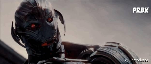 """Ultron, vilão de """"Os Vingadores: Era de Ultron"""""""