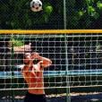 Fã de esportes, Sérgio Malheiros pratica vôlei, capoeira e muitos outros exercícios físicos