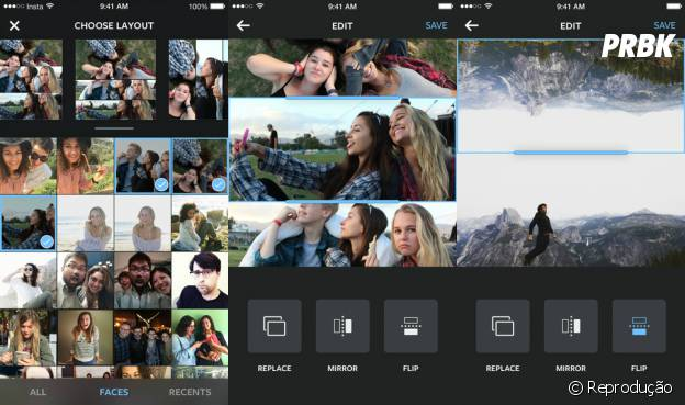 """""""Layout"""", do Instagram, está disponível para iOS, e deve chegar para Android nos próximos meses. Se prepare para ver muitas montagens em sua timeline!"""