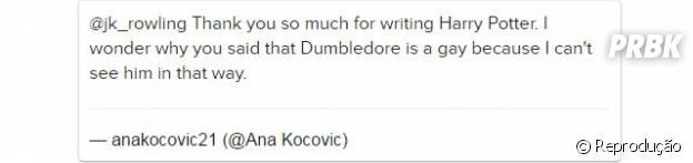 Fã não consegue enxergar Dumbledore, de Harry Potter, como uma pessoa Gay