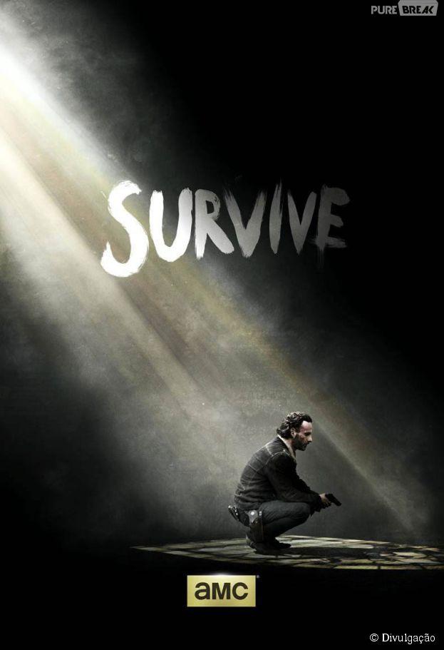 """Na final da 5ª temporada de """"The Walking Dead"""", quem sobreviverá?"""