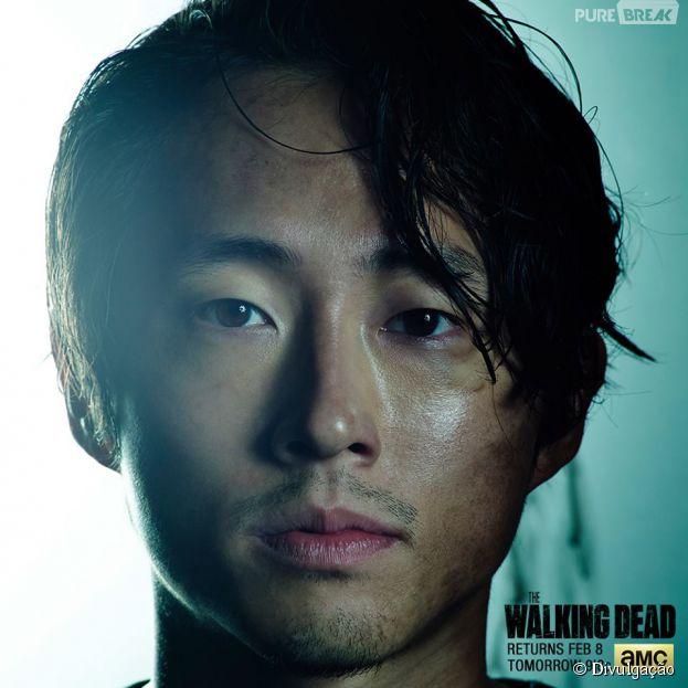 Glenn steven yeun um dos personagens mais queridos de - Walking dead livre de poche ...