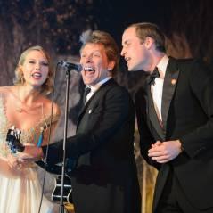 Taylor Swift canta com Príncipe William e Bon Jovi durante festa da realeza em Londres!