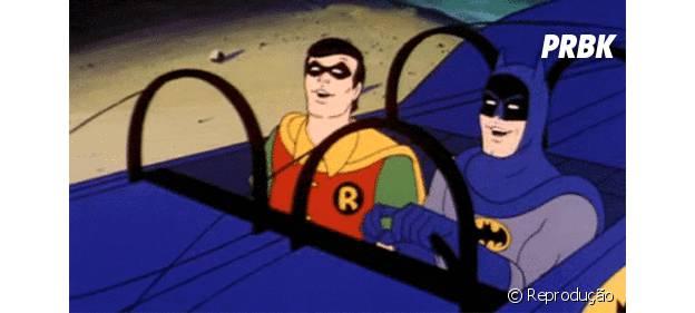 """Animação de """"Batman e Robin"""""""