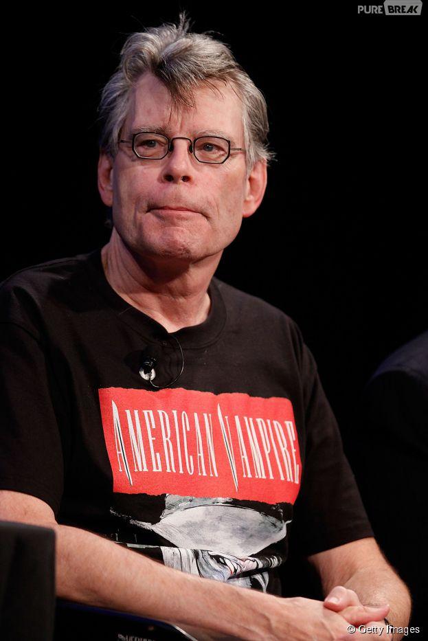 """Stephen King afirmou nesta quarta (1) que vai escrever um episódio de """"The Walking Dead""""! Será?"""