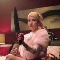 """Série """"Scream Queens"""": Emma Roberts surge ameaçadora em novo teaser da 1ª temporada!"""