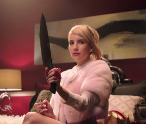 """Se maquiar usando um facão? Quem nunca em """"Scream Queens""""?"""