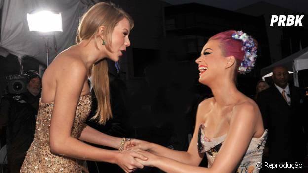 Taylor Swift e Katy Perry juntas