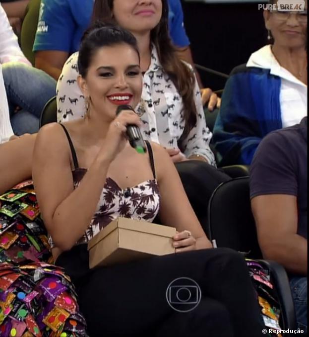"""Mariana Rios admite que """"PA"""" não funciona com ela, durante o programa """"Amor e Sexo"""" desta quinta-feira (28). """"Não existe 'PA' pra mim"""""""