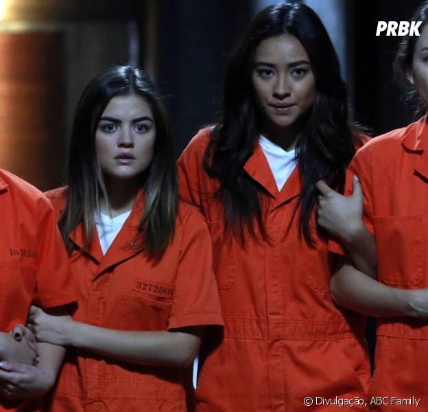 "Será que Hanna (Ashley Benson), Aria (Lucy Hale), Emily (Shay Mitchell) e Spencer (Troian Bellisario) vão estar bem em ""Pretty Little Liars""?"