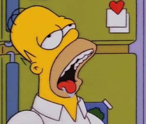 Uma coisa que Homer Simpson tem de monte é preguiça