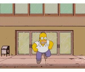 Quando você quer remover montanhas, use a fé, diz Homer Simpson