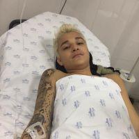 """MC Gui sofre acidente em Itatiba, machuca dois braços e tranquiliza fãs: """"Graças a Deus estou bem"""""""