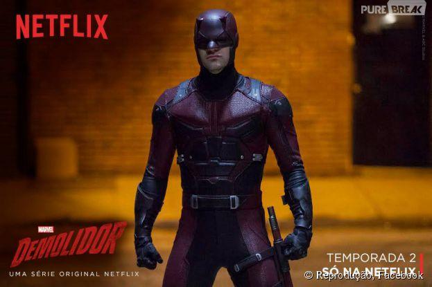 """A Netflix renovou a série """"Demolidor"""" para uma segunda temporada!"""