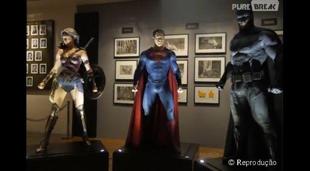 """""""Batman V Superman"""" ganha novo vídeo com detalhes dos uniformes dos super-heróis"""