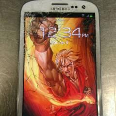 10 papéis de parede super criativos para telas de smartphone quebradas! Confira