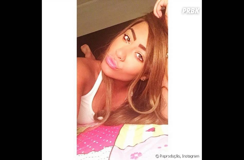 No Instagram, Rafaella Santos, irmã Neymar Jr., faz biquinho