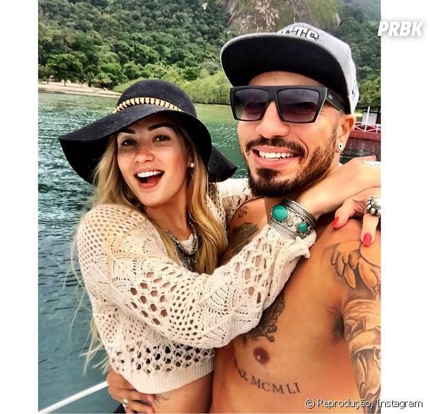 """Aline e Fernando, do """"BBB15"""", assumem namoro e cachês aumentam"""
