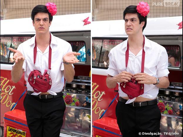 """Félix (Mateus Solano) vai mudar o visual para vender hot-dog em """"Amor à Vida""""!"""