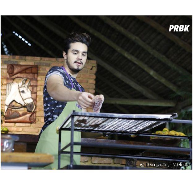 """Luan Santana revela como foi a primeira vez que ganhou dinheiro cantando, no programa """"Estrelas"""", da Globo"""