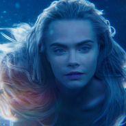 """Cara Delevingne em """"Peter Pan"""": novo trailer mostra atriz em dose dupla na pele de uma sereia!"""