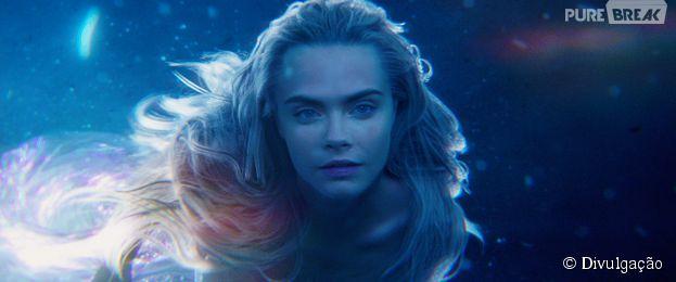 """Cara Delevingne aparece mais linda do que nunca na pele de uma sereia, em """"Peter Pan"""""""