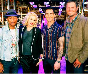 "Gwen Stefani, Adam Levine, Pharrell Williams e Blake Shelton podem ser os jurados da nona temporada do ""The Voice USA"""