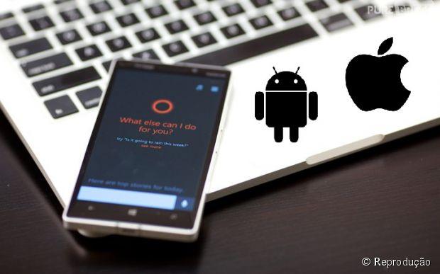 Microsoft anuncia que assistente virtual Cortana será lançado para smartphones com Android e iOS