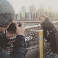 Sophia Abrahão e Sérgio Malheiros continuam viagem por Nova York e atriz posa na Ponte do Brooklyn
