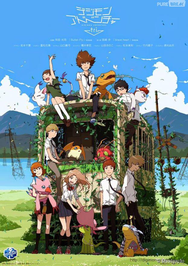 """Em """"Digimon Adventure Tri"""", nossos antigos personagens estarão em novas aventuras!"""