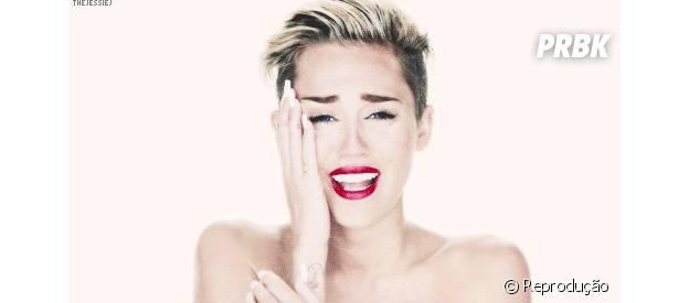 Miley Cyrus em Wreacking Ball