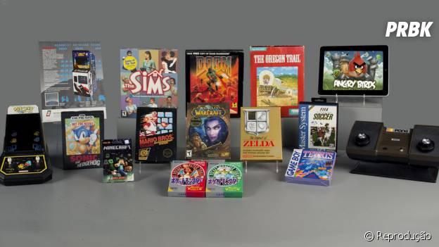 Os 15 finalistas para o Hall da Fama dos videogames, de onde seis foram escolhidos