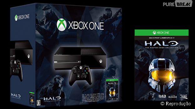 "Xbox One ganhará bundle promocional com ""Halo: The Master Chief Collection"""